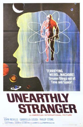UNEARTHLY STRANGER 1964  Original Movie Poster 1- SHEET