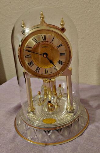 Linden Crystal Anniversary Clock