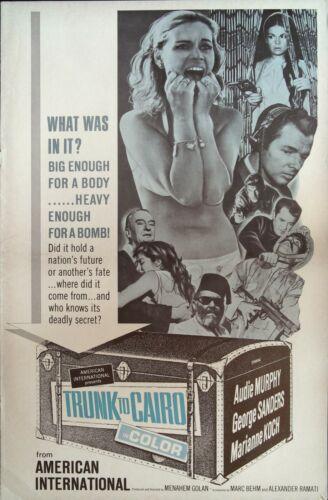 Trunk to Cario Pressbook 1966 Audie Murphy, George Sanders