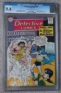 DETECTIVE COMICS #285 CGC NM 9.4 - HIGHEST CGC GRADE RARE