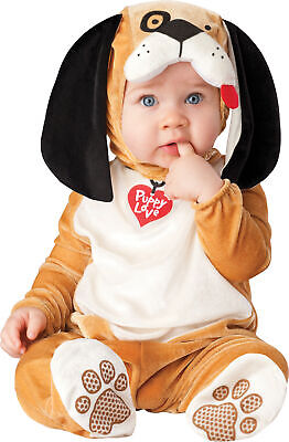 Puppy Love Infant Costume Toddler Kids Child Animal Theme Party Halloween Mascot