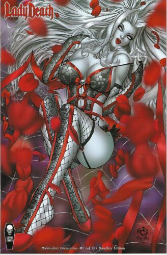 LADY DEATH # 1 Malevolent Decimation Jesse Wichmann Variant Cover Edition !!  NM