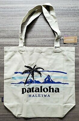 Patagonia Haleiwa Hawaii Exclusive Leaning Palm Market Tote LG Bag Limited NEW