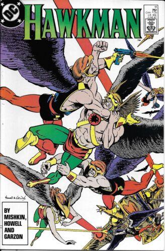 Hawkman Comic 11 Copper Age First Print 1987 Dan Mishkin Howell Garzon DC