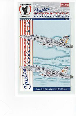 Eagle Strike F-18 Hornets Decals 1/32 for Monogram Revell Hasegawa Kits