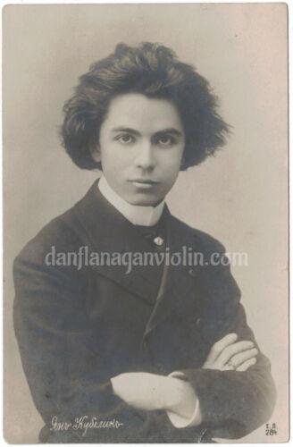 Jan Kubelik photo violin violinist