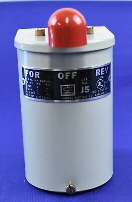 Furnas J5 Reversing Drum Switch Maintained Nema 1 Nos 3160