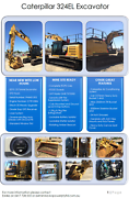 MUST GO! 2015 Caterpillar 324EL Excavator Round Hill Gladstone Area Preview