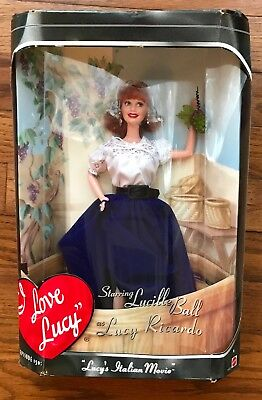 Barbie Doll Lucille Ball in I Love Lucy's Italian Movie Episode 150 1999