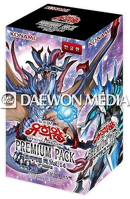 """15 Pack // Korean Ver Yugioh Cards  /""""Rarity Collection/"""" Booster Box"""