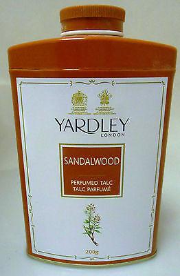 Usa Körperpuder (Yardley 250 Gramm London Sandelholz Parfümiert Talkum Puder USA Verkäufer)