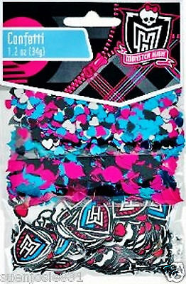 Monster High Value Pack Confetti Decorations Party Supplies