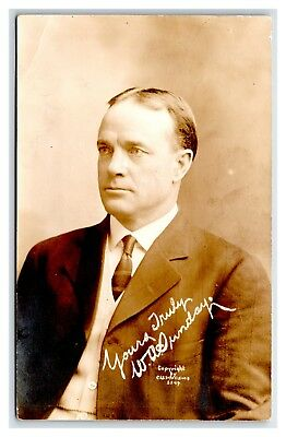 ILLINOIS BLOOMINGTON C.U. WILLIAMS REAL PHOTO POSTCARD BILLY SUNDAY CIRCA 1925 for sale  Ypsilanti