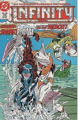 DC Comic! Infinity Inc.! Issue 26!