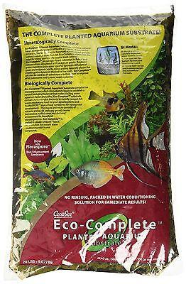 Eco Complete Planted Black Aquarium Substrate 20 Pound