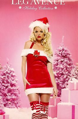 LEG AVENUE JINGLE BELL BABY CHRISTMAS FANCY DRESS  83464 Small and - Baby Belle Kostüm