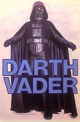 Original 1978 Darth Vader  Hot Peel Iron On Transfer Star Wars Science Fiction