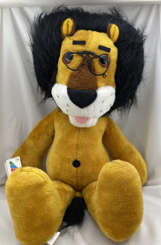 Hubert the Lion Harris Trust Bank Vintage 1987 Animal Fair w/ Tags Stuffed Toy