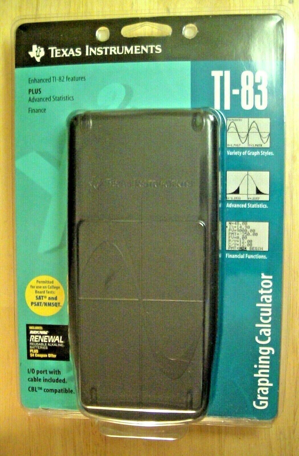 ti 83 graphing calculator