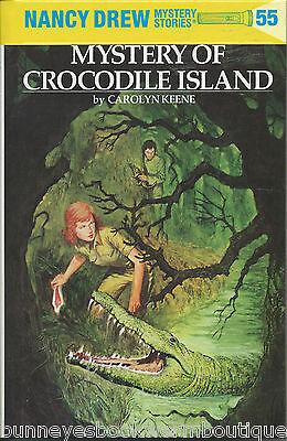 55 Nancy Drew Mystery Of Crocodile Island Flashlight Glossy Hardcover Book
