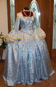 Marie-Antoinette-Colonial-Beethoven-Waltz-Masquerade-Victorian-Dress-Costume