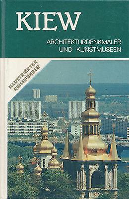 Stadtführer KIEW Ukraine UdSSR-Reiseführer Architektur+Museen Sowjetunion | Buch