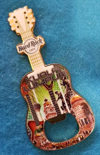 KUALA LUMPUR CITY ICONS ARCHITECTURE BOTTLE OPENER MAGNET GUITAR Hard Rock Cafe