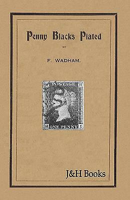 PENNY BLACKS PLATED by Wadham 1d Black Plate Prominent Characteristics - CD