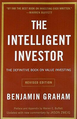 The Intelligent Investor: The Definitive Book on Value Investing PAPERBACK
