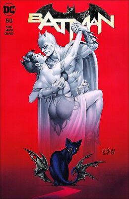 Batman #50 ~ Exclusive Joseph Linsner Variant ~ Cover 'A' ~ Galaxy Comics