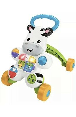 Fisher-Price Learn with Me Zebra Musical Activity Walker Girl Boy Toy Gift