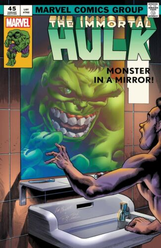 Immortal Hulk #40 - 45 You Pick Issues From Main & Variant Covers Marvel 2021