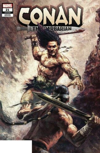 CONAN THE BARBARIAN (2019) #21 - Mastrazzo Variant - New Bagged
