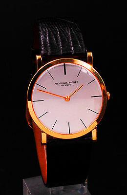 RARE Audemars Piguet 18K Gold ultra thin. Cal 2003 Movement just serviced!