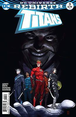 TITANS #3 VARIANT EDITION COVER RETURN OF WALLY WEST NEW 1 REBIRTH TEEN