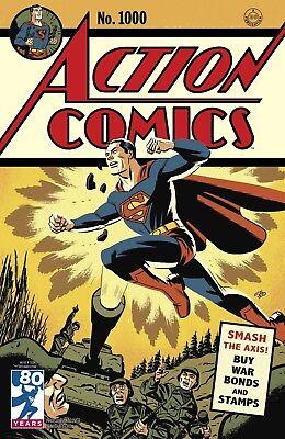 ACTION COMICS 1000 MICHAEL CHO 1940's 40's DECADES VARIANT SUPERMAN NM