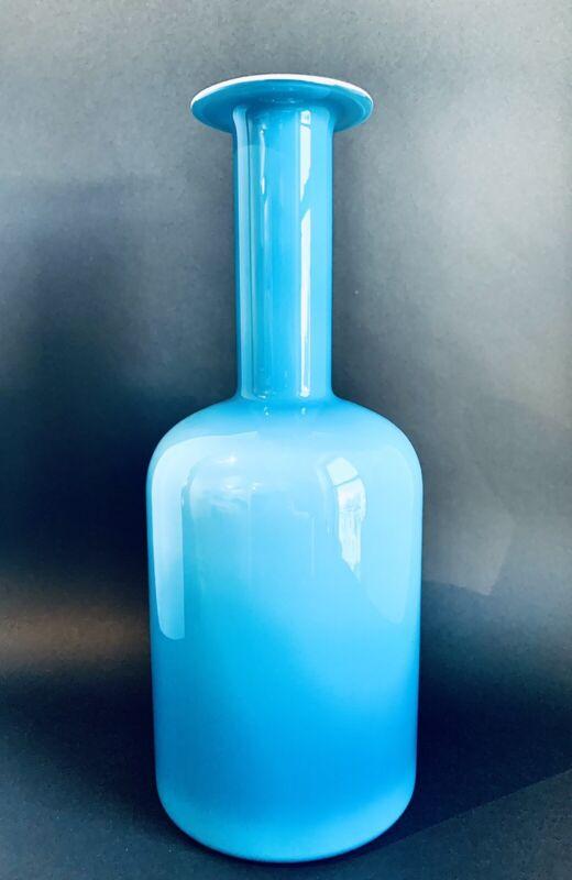 """HOLMEGAARD Gulvase 17"""" Blue"""