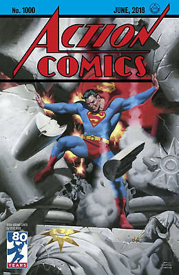 ACTION COMICS #1000 1930'S RUDE VARIANT DC COMICS SUPERMAN MILESTONE