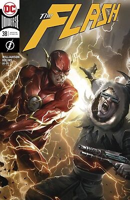 FLASH 38 VOL 5 FRANCISCO MATTINA VARIANT METAL TIE IN RED DEATH NM SOLD OUT
