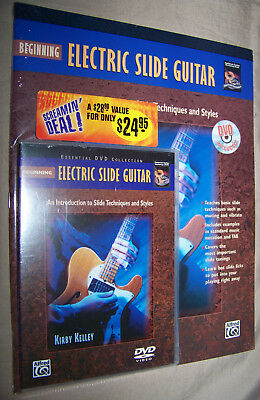 Alfred Beginning Electric Slide Guitar Book & DVD Intro To Techniques & Styles Beginning Electric Guitar Dvd