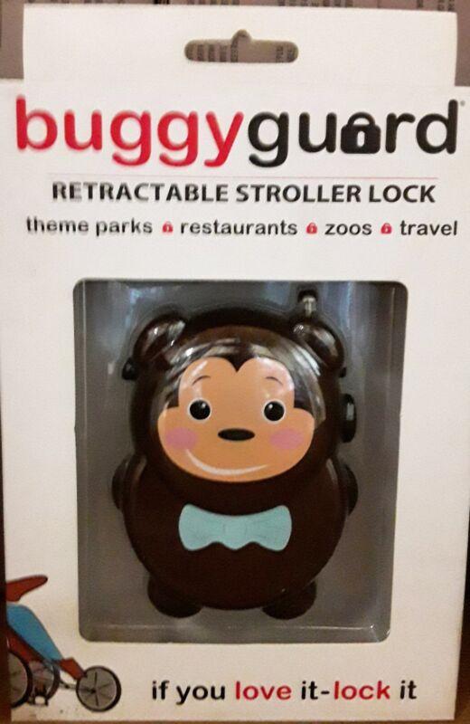 Buggyguard Retractable Stroller Lock - Baby Bear, Brand New