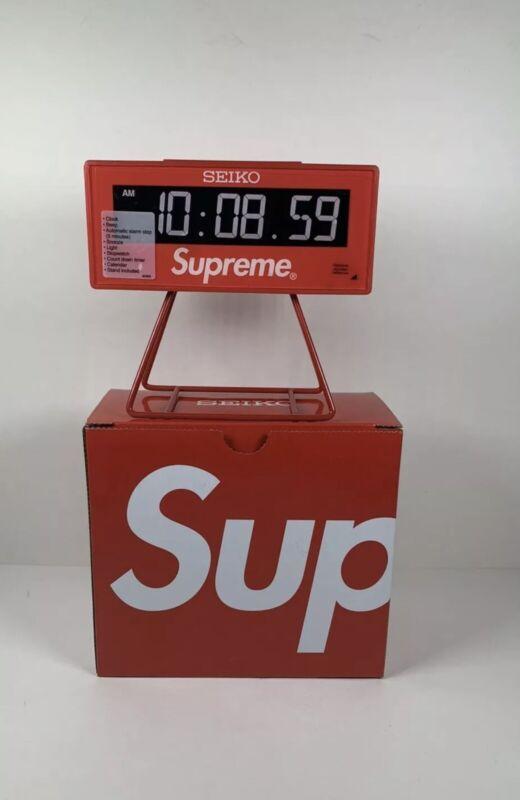 New Supreme®/Seiko Marathon Clock **IN HAND, FAST SHIP**