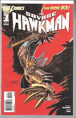 The New 52! Savage Hawkman #1