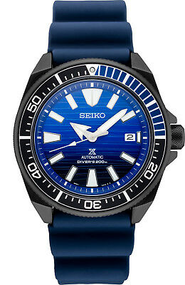 New Seiko Automatic Prospex Samurai Divers 200M Men's Watch SRPD09