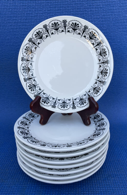 "Set Of 8 Richard Ginori Italy Dinner Plates 6 7/8"""