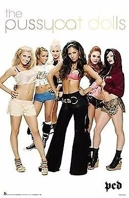 MUSIC POSTER~The Pussycat Dolls Lauren Bennett Group Shot Pop Rock Classic New~
