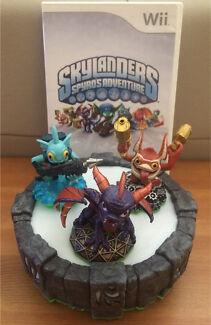 Skylanders Wii Spyro's Giants Swap Trap Game Discs Portals Figures