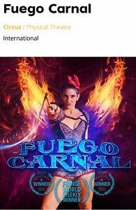 Fringe World Fuego Carnal Ticket