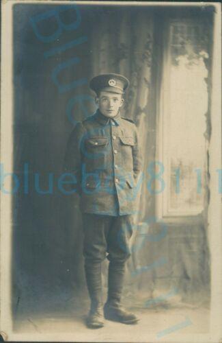 WW1 South Wales Borderers Soldier studio photo Portland studio Kinmel camp