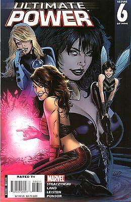 Ultimate Power Comic 6 of 9 Marvel 2007 Straczynski Land Leisten Ponsor